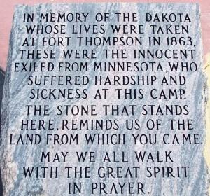 This photograph is of a monument found near Fort Thompson South Dakota. #sacrifice